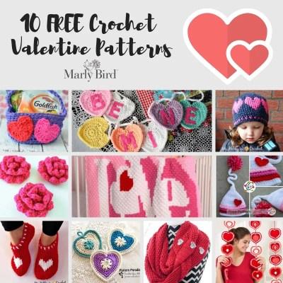 Crochet Valentine's Patterns-FREE Crochet Patterns