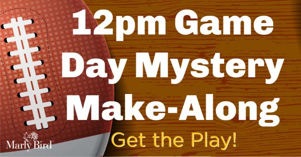 12pm Knit Game Day Mystery Make-Along 2019