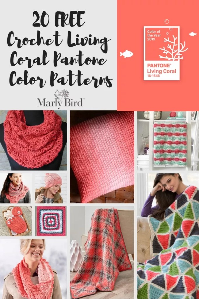 Living Coral FREE Crochet Patterns