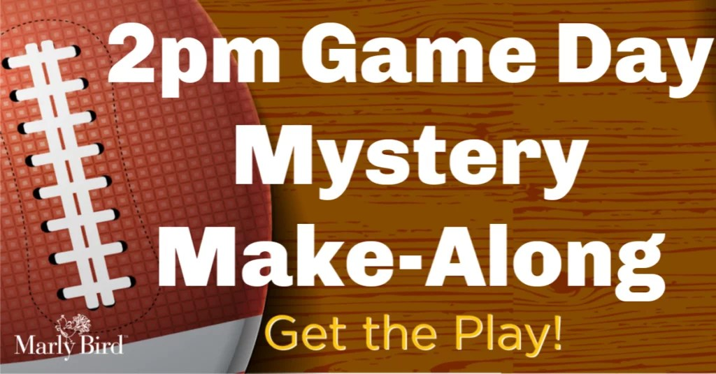 2pm Game Day Mystery Make-Along 2019