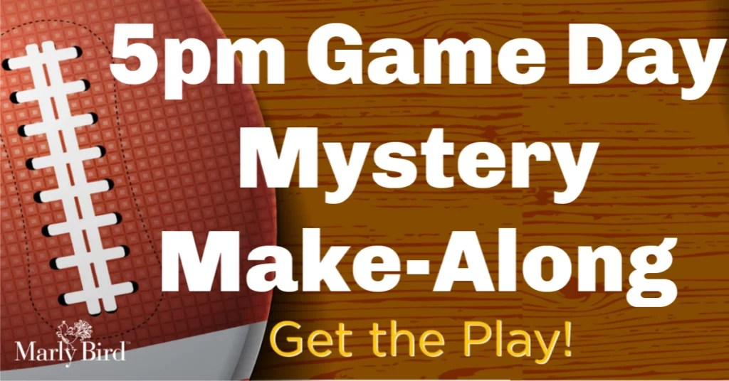 5pm Game Day Mystery Make-Along 2019