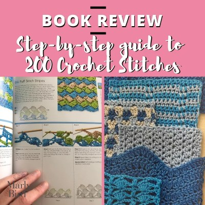 Crochet Stitch Dictionary-learn 200 stitches