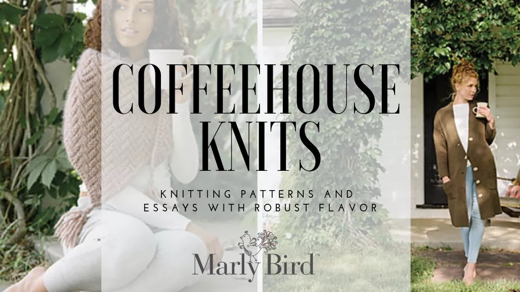 Coffeehouse Knits book review-Knitting book
