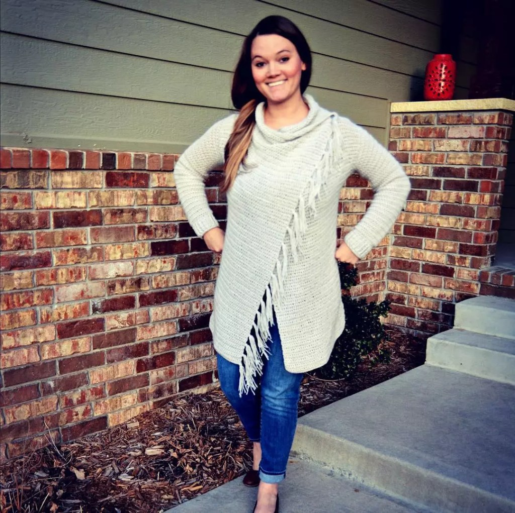 Blanket Cardigan by Heart Hook Home