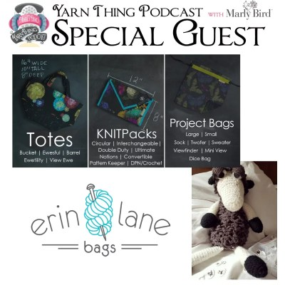Erin Lane Bags back on the Yarn Thing Podcast