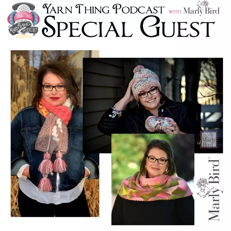 Yarn Thing Podcast with Marly Bird-Learn about Marly Bird