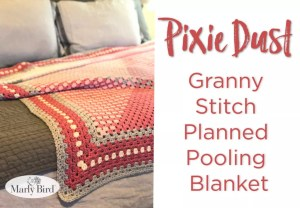 Granny Stitch Planned Pooling Blanket by Marly Bird