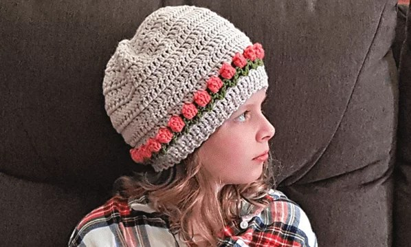 Oombawaka Designs-Tulip Stitch Crochet Hat-Chic Sheep Yarn-Chic Sheep FREE Patterns