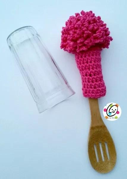Bottle Scrubby FREE Crochet pattern