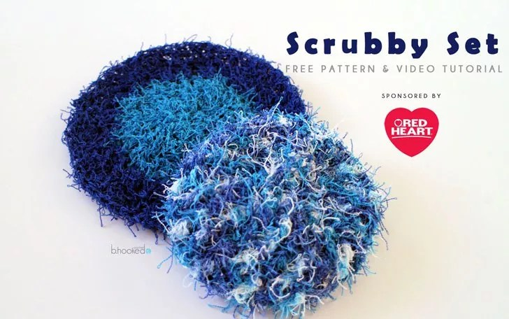 Scrubby Set Free Crochet pattern