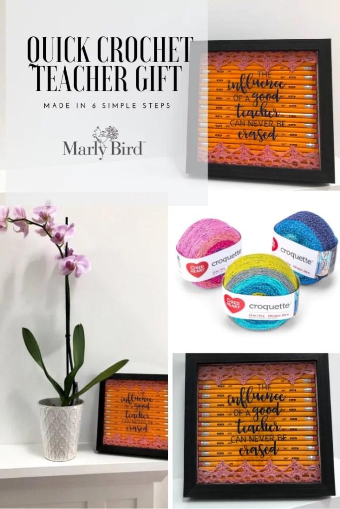 6 Steps for Quick Crochet Teacher Gifts