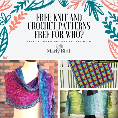 Free Knit Patterns, Free Crochet Patterns, Free for Who?