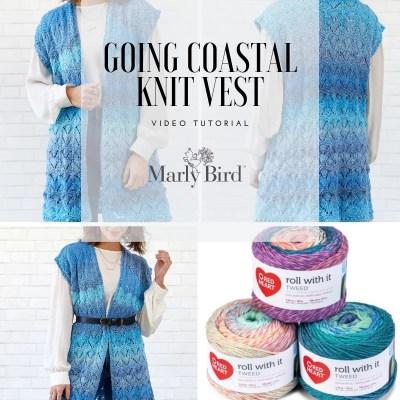 Knit Lace Vest