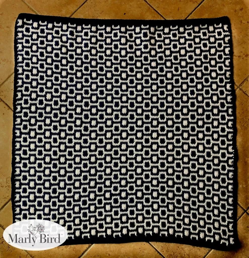 Oliver and Olivia Crochet Blanket