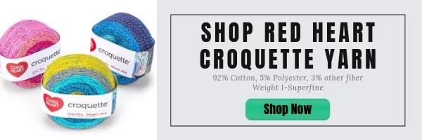 Shop Red Heart Croquette Yarn