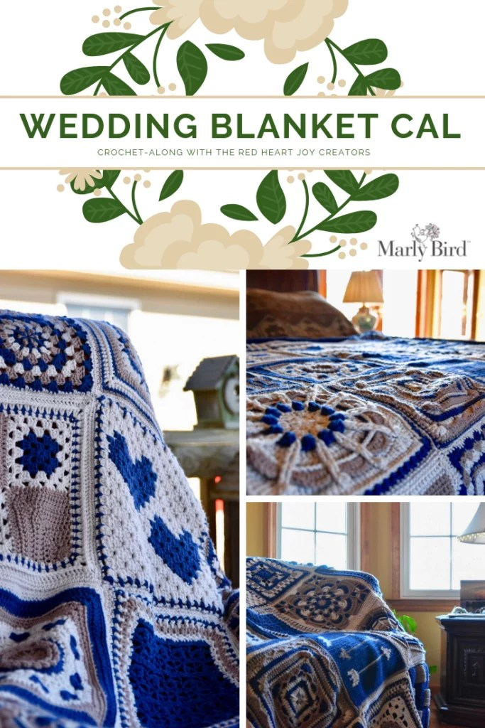 Wedding Blanket CAL with the Red Heart Joy Creators-Purchase Chic Sheep to get started with us