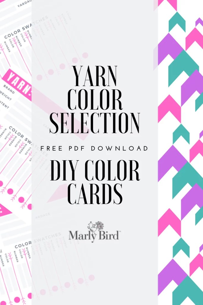 FREE DIY Color Card PDF download