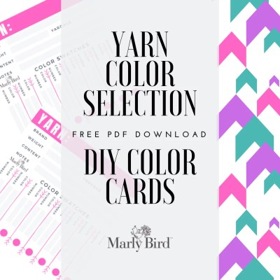 Project Planning-Yarn Color Selection