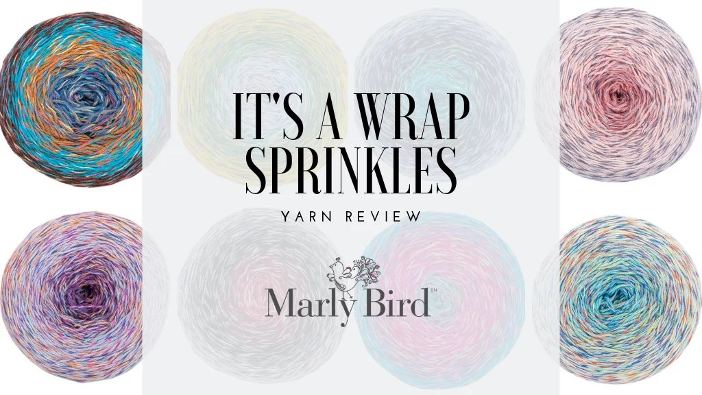 Shop Red Heart's It's a Wrap Sprinkles Cotton/Acrylic fine weight yarn