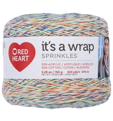 Red Heart It's a Wrap Sprinkles