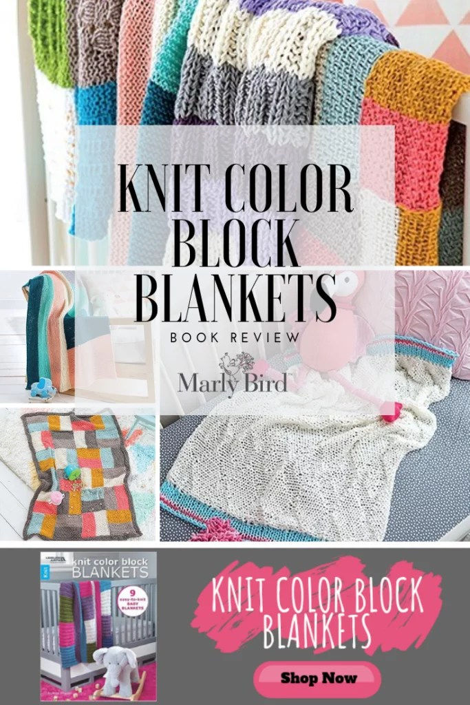Purchase a copy of Knit Color Block Blankets by Kristi Simpson