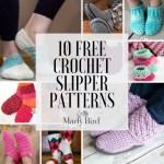 10 Free Crochet Slipper Patterns Marly Bird