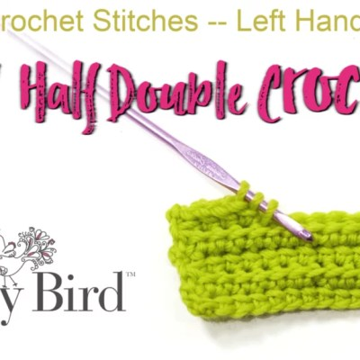 Learn to Crochet the Linked Half Double Crochet