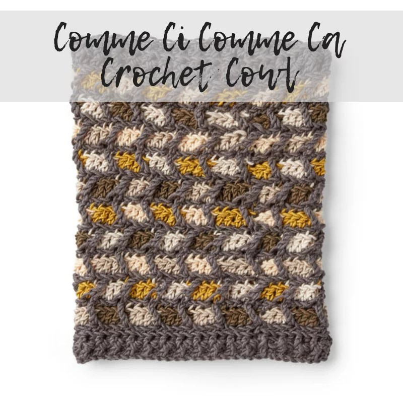 Download the FREE Crochet Cowl Pattern