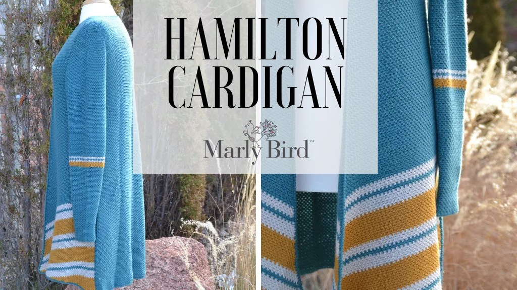 Marly Bird Hamilton Crochet Cardigan Pattern