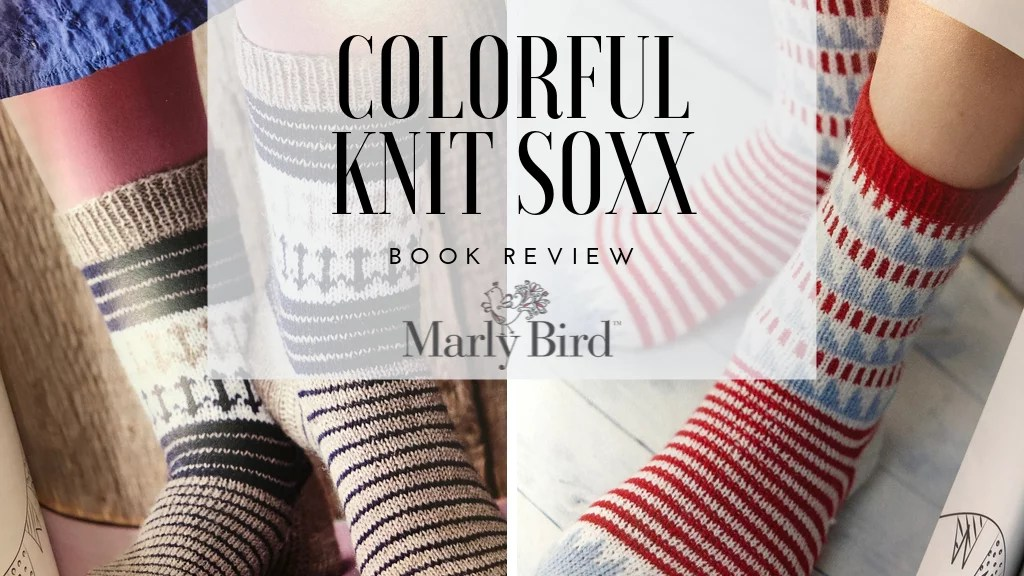 Book Review of Colorful Knit Soxx
