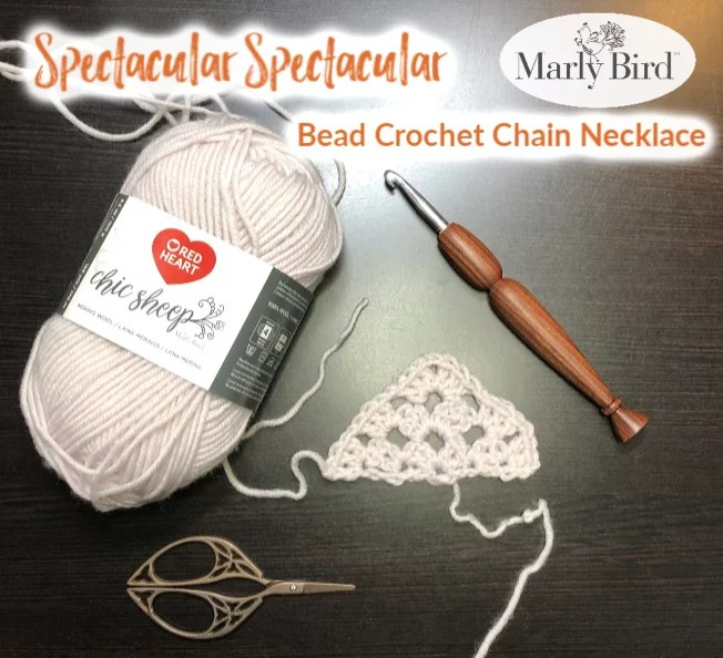 Bead Crochet Necklace Making a Clasp