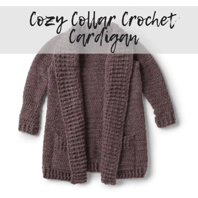 Crochet Cardigan with Collar FREE Download
