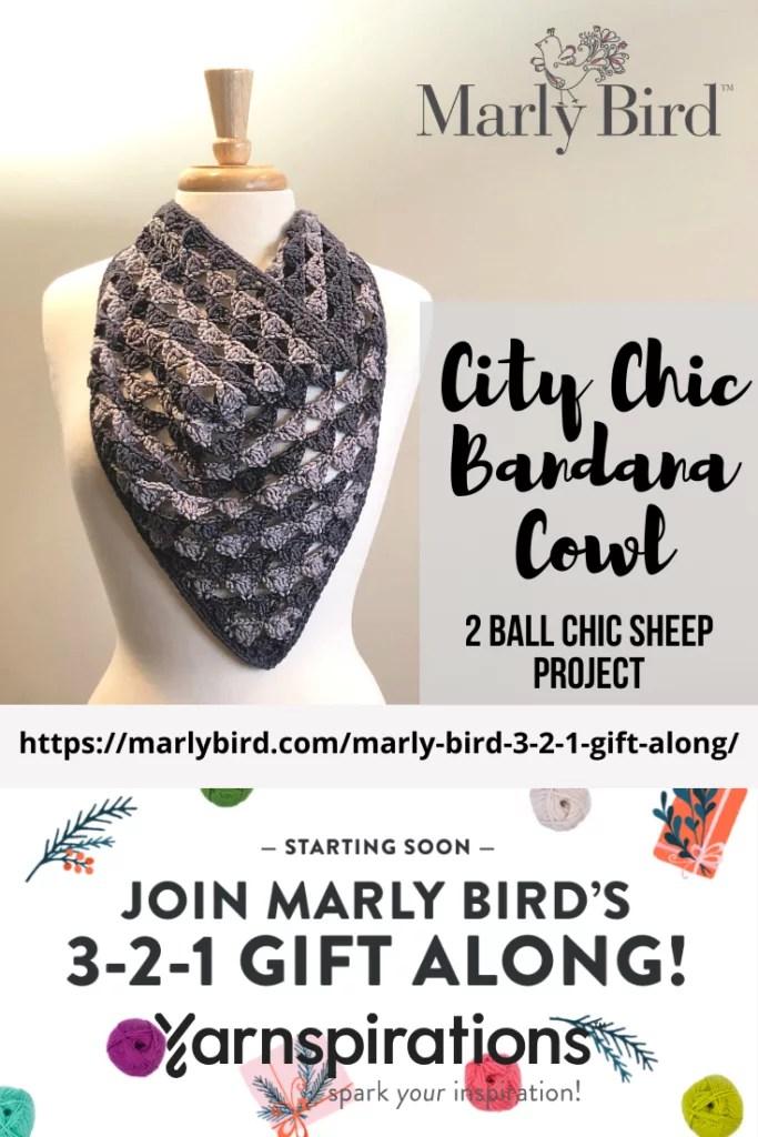 Download the City Chic Bandana Cowl great crochet gift
