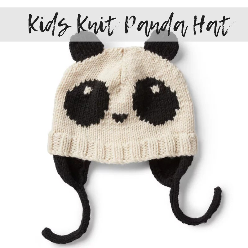 FREE Knits Knit Hat with Panda
