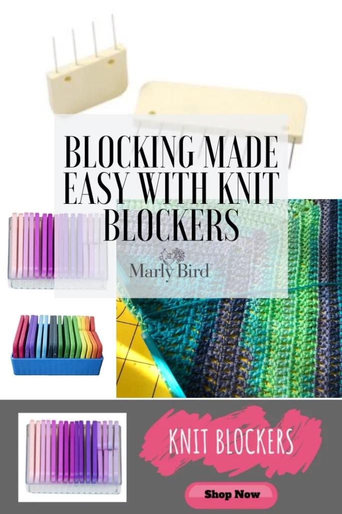 Knit Blockers to make blocking easier