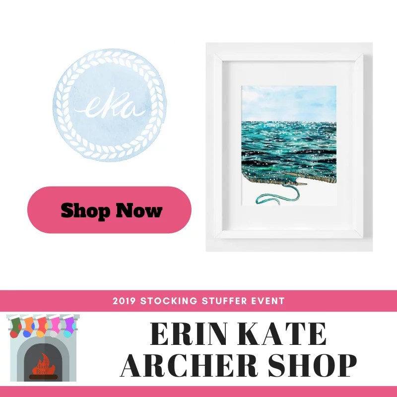 Stocking Stuffer Event 2019-Erin Kate Archer Shop
