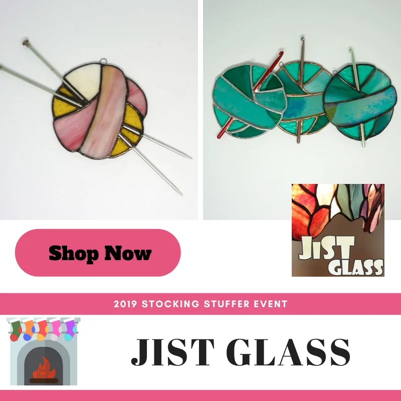 Shop knit and crochet stained glass at JiST Glass