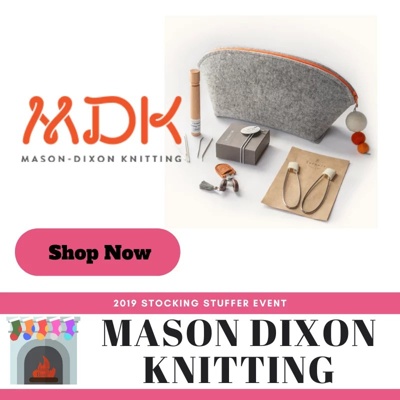 Shop notions accessories at Mason Dixon Knitting in the 2019 Stocking Stuffer Event with Marly Bird