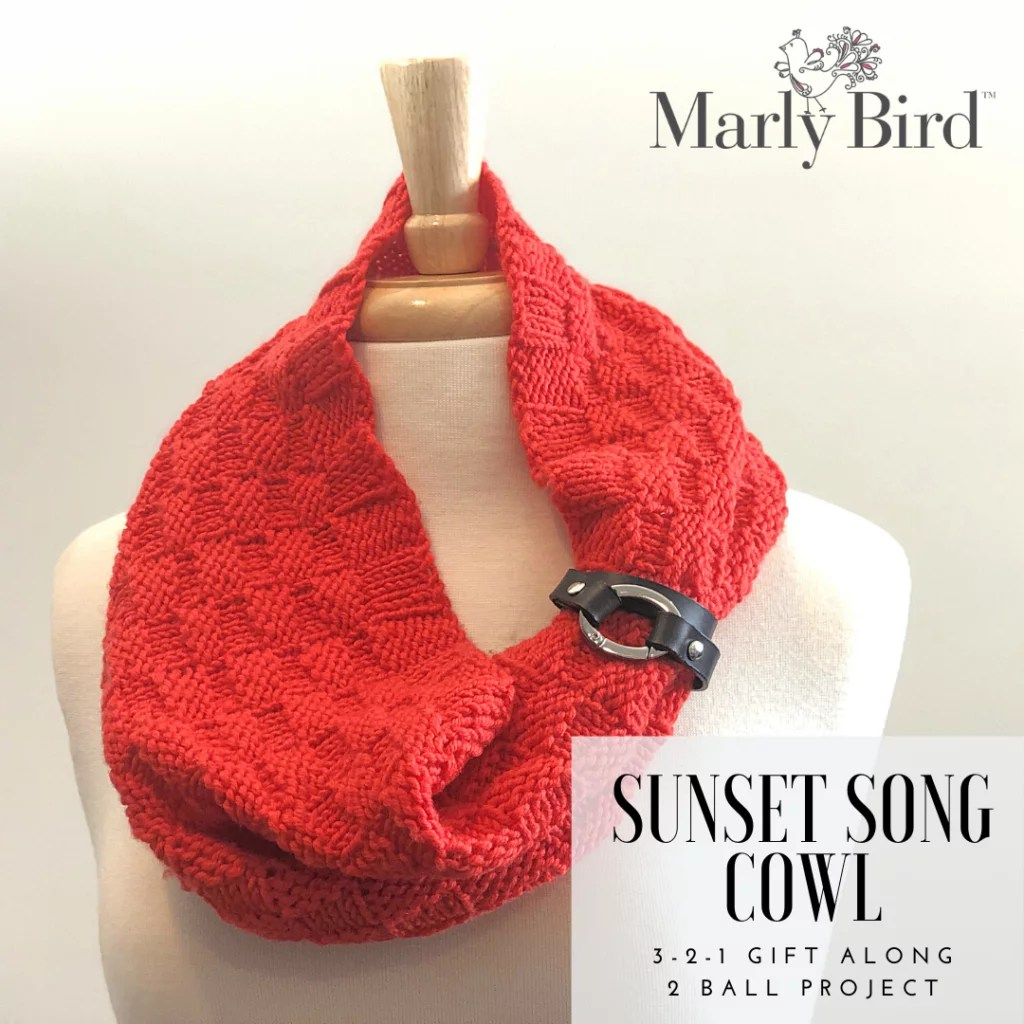 FREE Quick Knit Cowl Gift Pattern - Marly Bird™