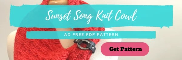 Download the Sunset Song Knit Cowl pattern