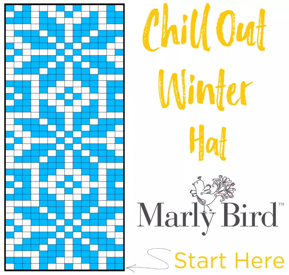 Chill Out Winter Hat Chart