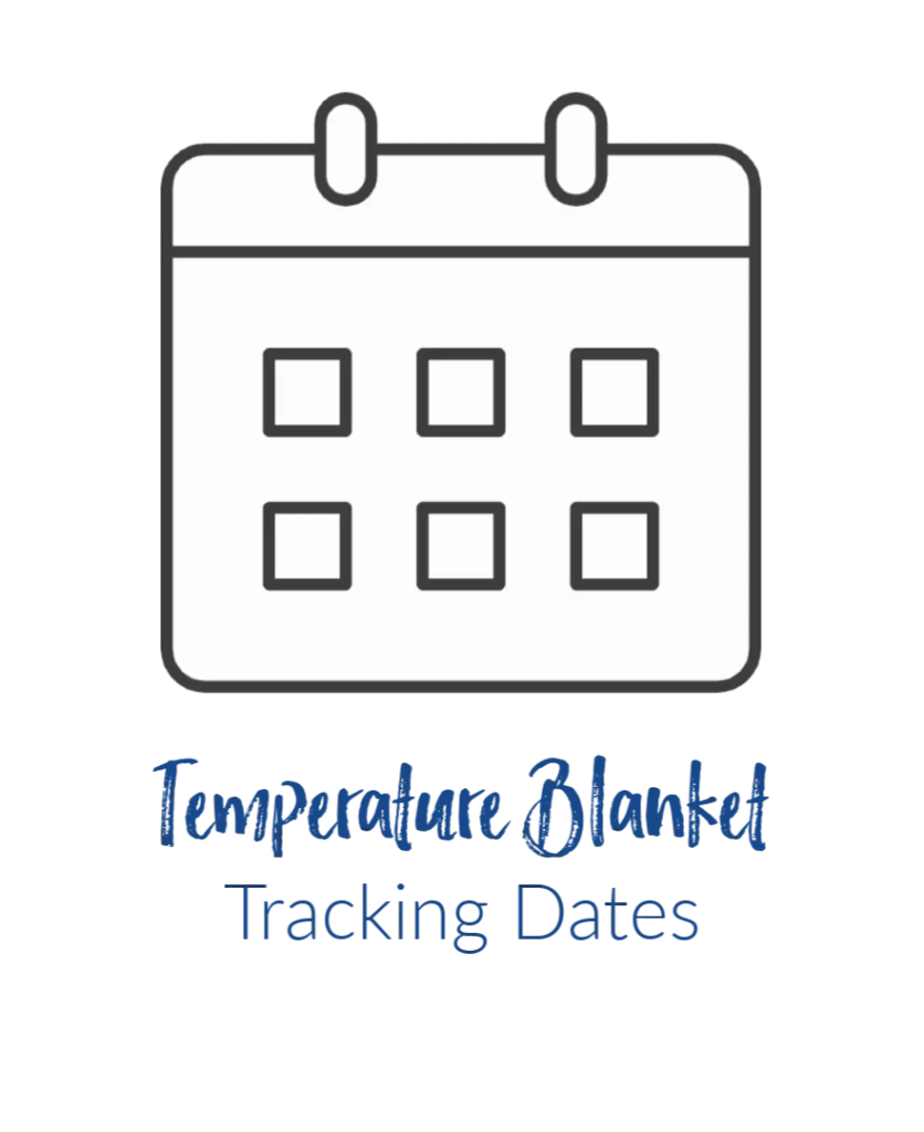 FREE Temperature Blanket Tracker