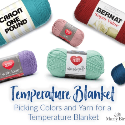 Temperature Blanket | Yarn and Colors
