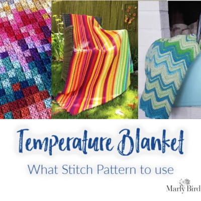Temperature Blankets | Stitch Pattern to Use