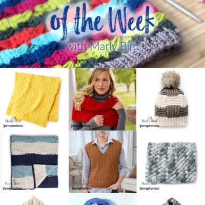 10 FREE Knit and Crochet Basketweave Patterns