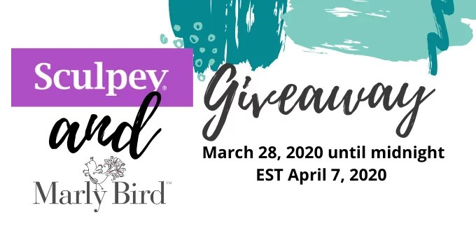 Sculpey and Marly Bird Giveaway