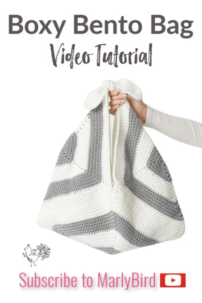 FREE Crochet Bento Bag pattern from Yarnspirations