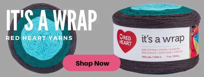 It's A Wrap Yarn from Red Heart