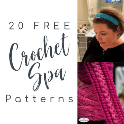 20 FREE Crochet Spa Patterns
