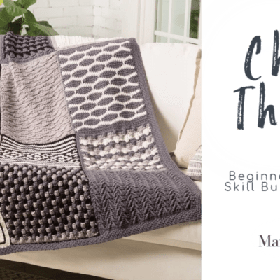 Beginner Crochet Blanket Stitch Sampler Class